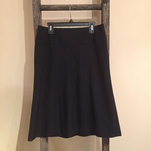 BANANA REPUBLIC Black Stretch Pencil Skirt - 4